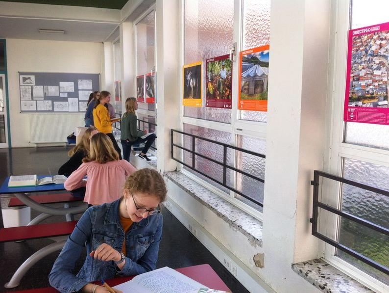 Ein Stück Schule aus Frankreich